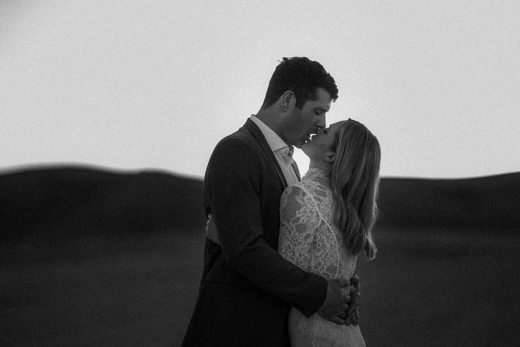 Intimate wedding in Marrakech, Agafay Desert