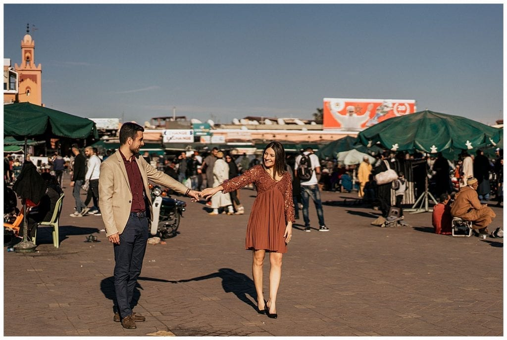 demande mariage carolinba francesco marrakech