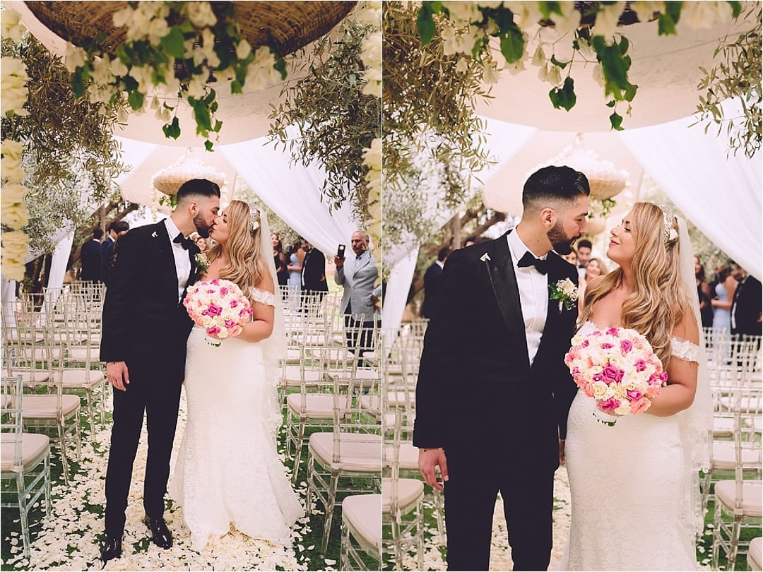 mixed culture wedding in Marrakech